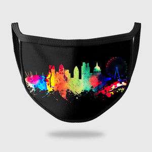 London Skyline Face Mask