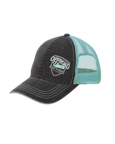 Fast & Dirty Distressed Dad hat - Seafoam
