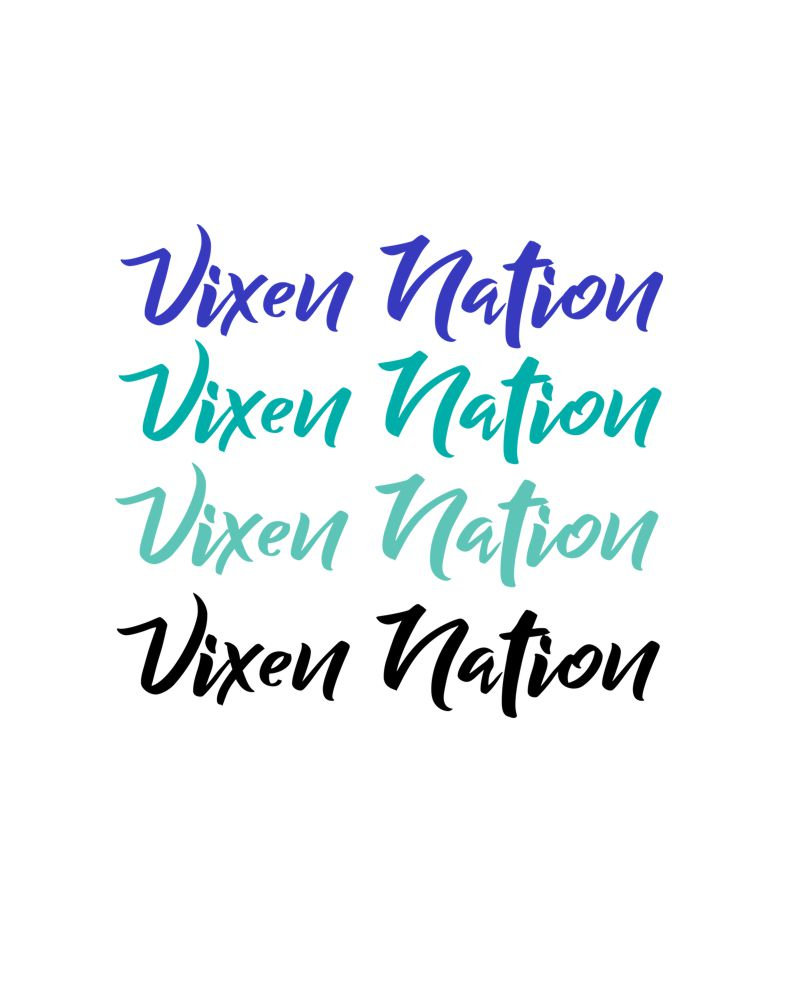 Vixen Nation Decal