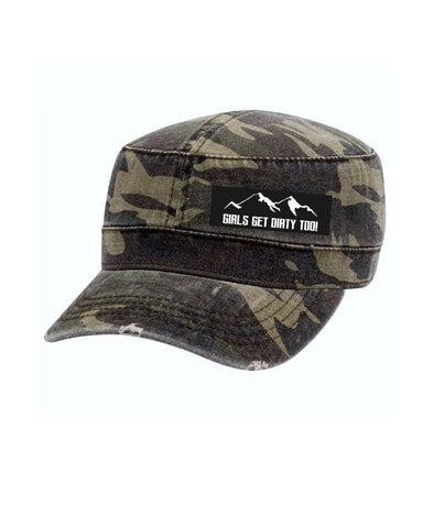 Wilderness Military Hat - Camo