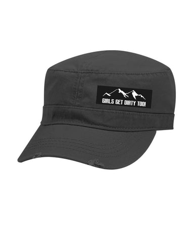 Wilderness Military Hat - Charcoal
