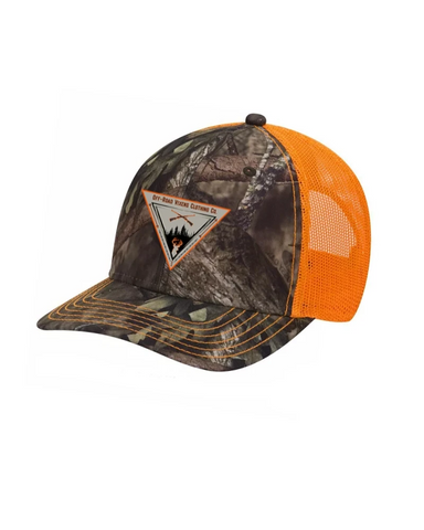 Buck Fever Mossy Oak® Camo Baseball Cap - Orange