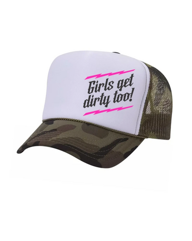 Lightning Trucker Hat - Camo