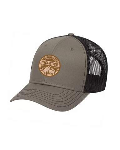 Vixen Outdoor Low Profile Trucker Hat - Olive