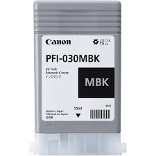 Canon PFI-030MBK Pigment Matte Black Ink Cartridge 55ml