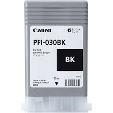 Canon PFI-030BK Pigment Black Ink Cartridge 55ml