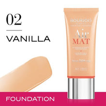 Load image into Gallery viewer, Bourjois 24hr Air Mat Foundation