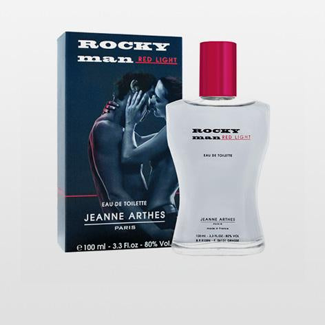 Jeanne Arthes Rocky Man Red Light Eau De Toilette 100ml