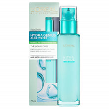 Load image into Gallery viewer, L'Oreal Hydra Genius Aloe Water + Hyaluronic Acid - Normal Combination Skin 70ml
