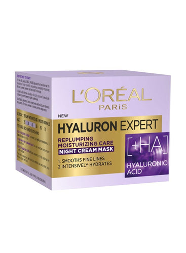 L'Oreal Paris Hyaluron Expert Replumping Moistuizing Night Cream 50ml