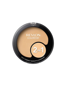 Revlon Colorstay 2-in-1 Compact Makeup and Concealer Buff 150