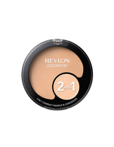 Revlon Colorstay 2 in 1 Compact Makeup and Concealer Ivory 110