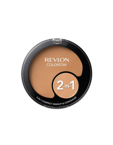 Revlon Colorstay 2-in-1 Compact Makeup and Concealer Natural Tan 330