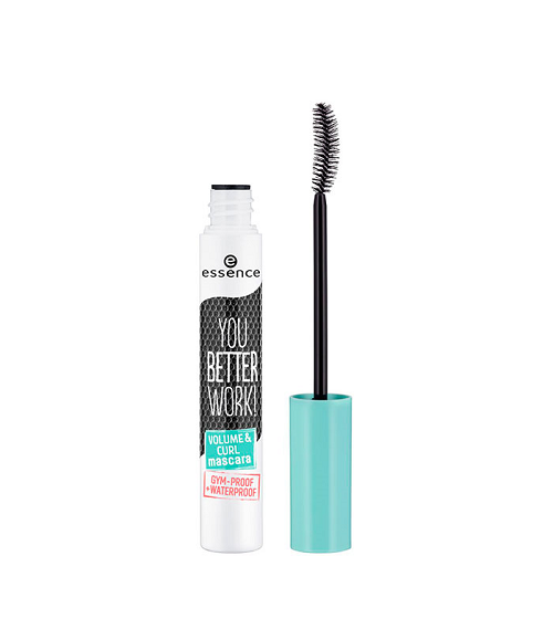 essence You Better Work! Volume & Curl Mascara