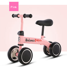 Load image into Gallery viewer, NEW ARRIVAL!!  Children's Outdoor Sports Four Wheels Balance Bike Scooter for 1-6 Years Old Kids Toy