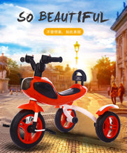 Load image into Gallery viewer, New Multi-function Foldable Children's Ride On Music & Light Foam Wheel Tricycle