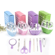 Load image into Gallery viewer, Baby Care Nail Trimmer Clippers Safe Cutter Tools Kit Set