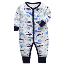 Load image into Gallery viewer, New High Quality 100% Cotton Long Sleeve & Long Pant Boys And Girls Fashion Baby Rompers