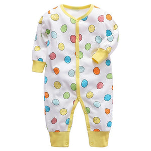 New High Quality 100% Cotton Long Sleeve & Long Pant Boys And Girls Fashion Baby Rompers