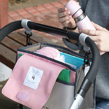 Load image into Gallery viewer, Baby Stroller Diaper & Feeding Bottle Mummy Hanging Storage Organizer Travel Bag