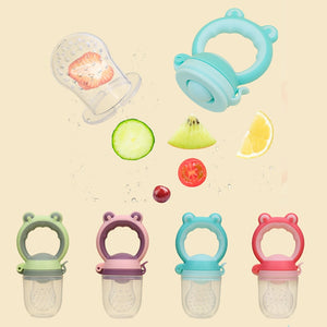Baby Fresh Food & Fruits Safety Food Grade Feeding Supplies Pacifier