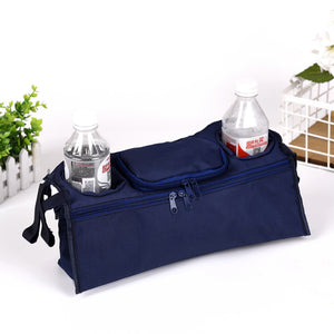 Baby Stroller Organizer Outdoor Accessories Nappy & Milk Bottle Holder Hanging Bag
