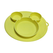 Load image into Gallery viewer, Baby / Kids Cartoon Dinnerware Food-grade Silica Gel Plate Bowl & Silicone Bibs