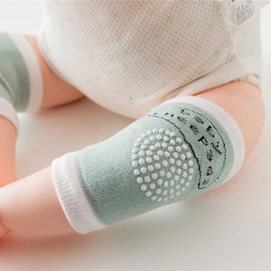 1 Pair - Baby Anti-slip Safety Crawling Elbow Knee Protection Pads & Leg Warmer