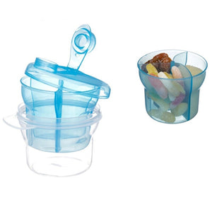 Portable Baby Milk Powder Dispenser & Food Container Bean Storage Box