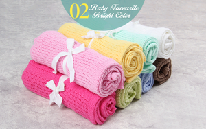Newborn Baby 100% Soft Cotton Lightweight & Breathable Bedding Swaddle Muslin Travel Blankets