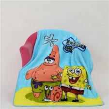 New Baby Cartoon Soft Coral Fleece Thin Lightweight Cotton Towel Blanket Size 100*70cm
