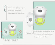 Load image into Gallery viewer, Soft Plastic Cute Design Baby Home Safety Lock Door Gate Stopper Protector