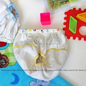 2pcs/set - Super Value 2 In 1 Twin Pack Reusable Washable Baby Cotton Diapers Training Pants