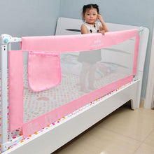 Load image into Gallery viewer, Baby / Kids Safety Vertical Lifting Bed Rail Fencing Gate