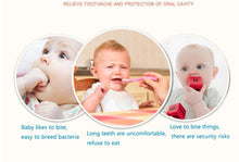 Load image into Gallery viewer, Baby Silicone Molar Mitten Teething Sound Gloves Nursing Anti-bite & Stop Sucking Thumb Toy