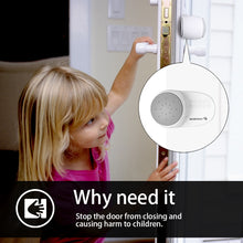 Load image into Gallery viewer, 2pcs/set Baby Prevent Door Injuries Safety Finger Pinch Guard Luxury Rotating Door Stoppers