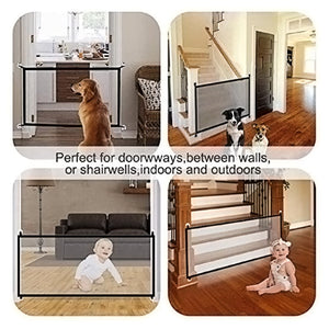 Baby / Kids Safety Protection Guard Mesh Fencing Gate