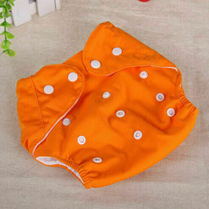 HOT ITEM!! - Reusable Washable Baby Cloth Diapers With Adjustable Soft Clip Covers