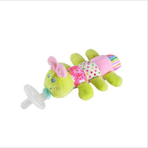 Lovely Baby Pacifier Plush Cute Toy Soother Pacifier Holder (Not Include Pacifier)