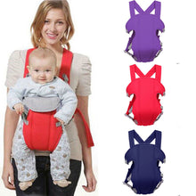 Load image into Gallery viewer, Baby / Kids Sling Wrap Swaddling Nursing Pouch Front Carry Papoose
