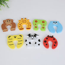 Load image into Gallery viewer, Baby Care Safety Cute Animal Protection Door Stop and Hooks