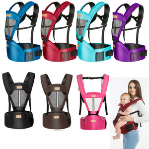 Baby Toddle Carrier Solid Breathable Ergonomic Adjustable Wrap Sling Chest Kangaroo Backpack