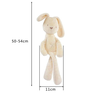 Cute Bunny Baby Soft Plush Mini Stuffed Smooth Obedient Rabbit Doll