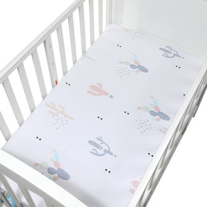 Newborn Baby Portable Baby Bed Soft Mattress 130*70cm Fitted Crib Sheet For Baby Cot