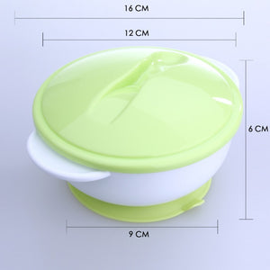 PROMOTION ITEM!!  Baby / Kids Feeding Food Non Slip Two-handed Bowl + Spoon Set