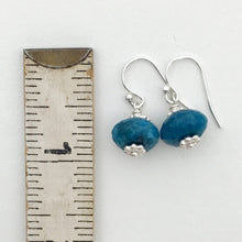 Load image into Gallery viewer, Apatite Earrings with Solid 925 Sterling Silver