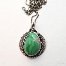 Load image into Gallery viewer, Natural Utah Lucin Variscite Pendant Necklace