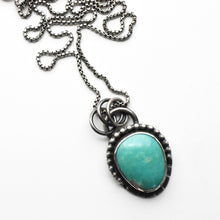 Load image into Gallery viewer, La Elisa Turquoise and Sterling Silver Necklace