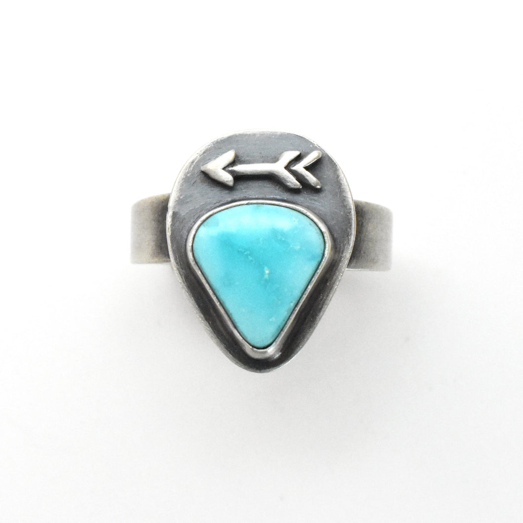Skyline Turquoise Sterling Silver Arrow Ring