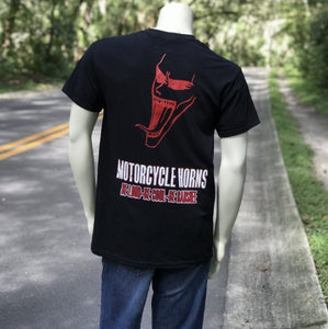 Mens T-Shirts - Screaming Banshee Horns